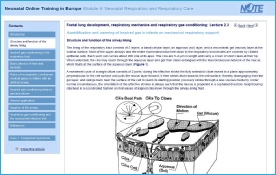 NOTE project e-learning example